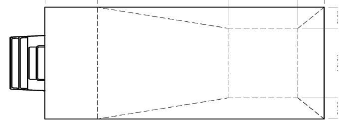 Centered fiberglass step