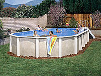 above ground pools doughboy pools img Doughboy Above Ground Pools