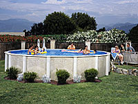 Indianapolis pool products and supplies for Above ground pool decks indianapolis