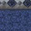Cacapon Tile - Indigo Wave Bottom