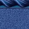Riverside Blue Tile - Pebble Blue Bottom