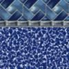 Cobalt Stone Tile - Blue Wave Bottom