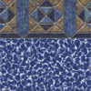 Pinwheel Tile - Blue Wave Bottom