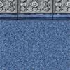 Carved Stone Tile - Paradise Pebble Bottom