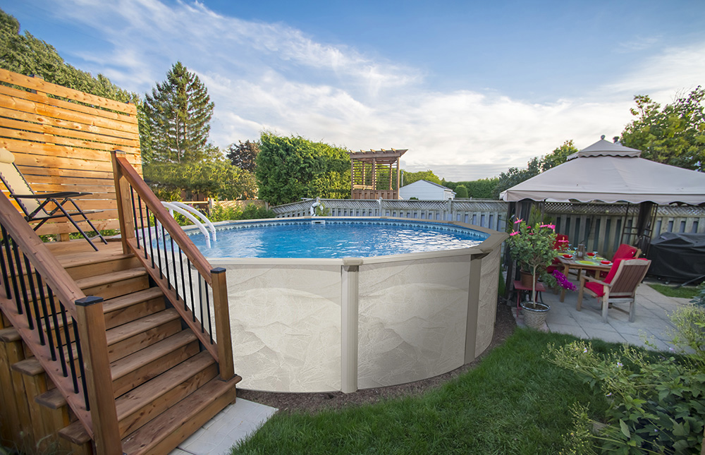 Is the diy above ground pool right for you pools of fun - Diy above ground pool ...