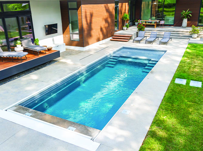 Indianapolis Fiberglass Inground Pools Pools Of Fun